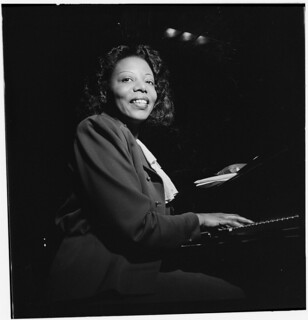 [Portrait of Mary Lou Williams, CBS studio, New York, N.Y., ca. Apr. 1947] (LOC)
