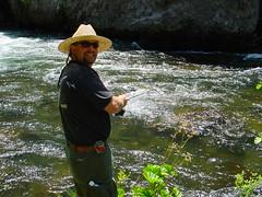 Jeff Forrester fishing