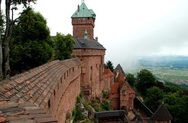El majestuoso Castillo Haut-Koenigsbourg