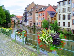 Strasbourg Quay, one of the many sights
