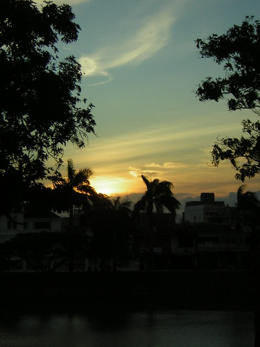 travel indonesia cityscape sunsets fieldwork aceh 2007 bandaaceh