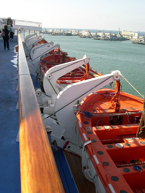 Life Boats On The Cruise Ship Dream Princess  Flickr