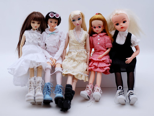 My fashion dolls