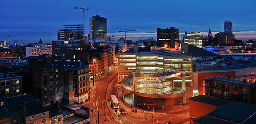 Manchester City Centre Skyline