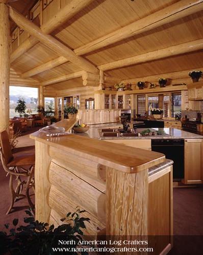 Custom Log Home Interior Flickr Photo Sharing