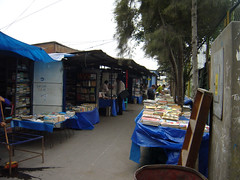 Inside the book market in Lima