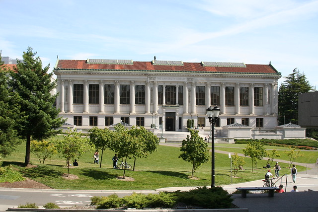 University Library on University of California Berkeley ...