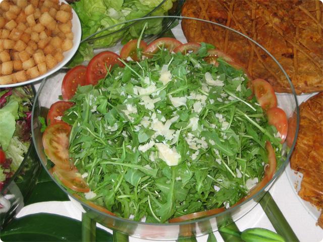 Recetas de las mejores ensaladas ensalada de rucula for Las mejores ensaladas