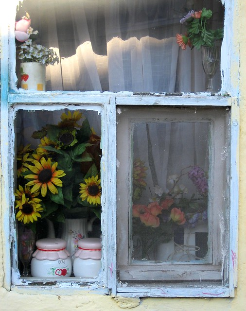 old fashioned window