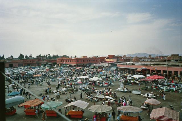 Market Place Jemaa-El-Fna