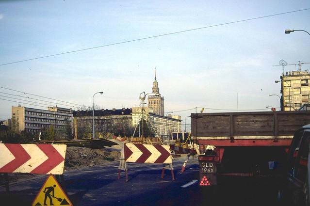 Polen Warschau Oktober 1986