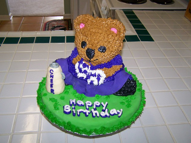 Fondant Teddy Bear Cake Topper Tutorial