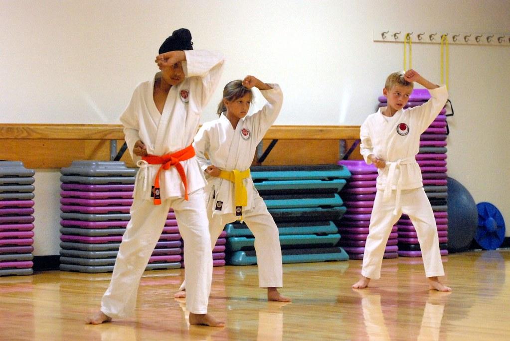 karate belt exam