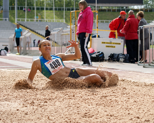 Yorkshire Track and Field Championships-Jess Ennis