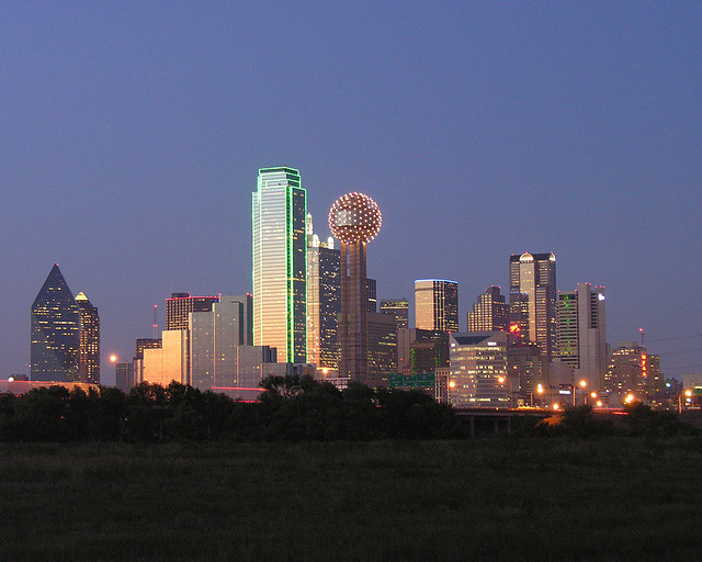 Dallas at Sunset