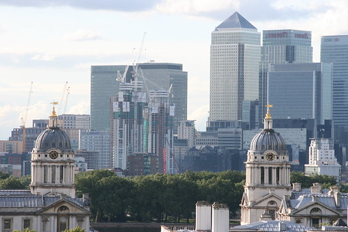 old versus new - greenwich. the empire and globalisation by ultraBobban