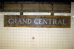 NYC - Grand Central Subway Station (IRT)