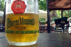 traveling beer; Bohemian Hall
