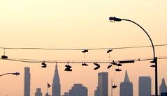 Shoes Over Manhattan