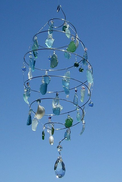 Sea Glass Chandelier Flickr Photo Sharing