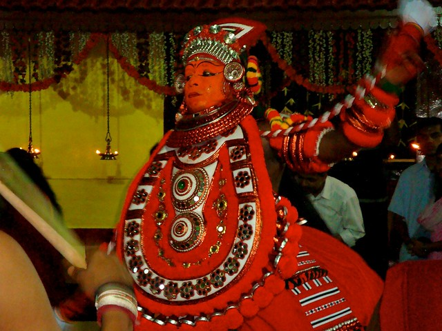 Kannur India  city pictures gallery : Theyyam dancer, Kannur, Kerala, India | Flickr Photo Sharing!