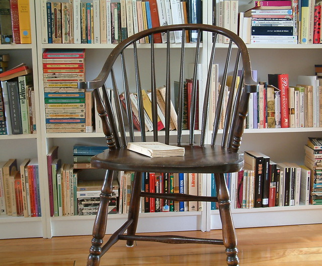 Chaise windsor chair ma chaise de lecture this is for Chaise windsor
