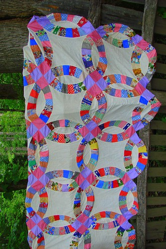 wedding ring quilt pattern