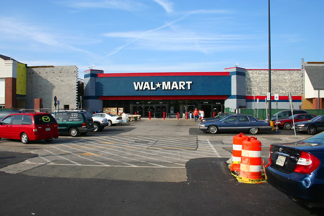 Wal Mart store by flickr user perspective