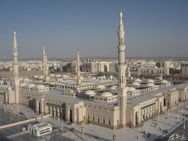 Map Masjid Nabawi http://www.flickr.com/photos/umari/590156212/