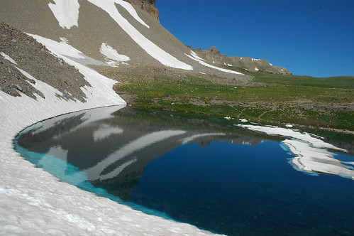 snow reflection ice utah hiking hike emeraldlake wasatchmountains uintanationalforest youvegottheeye mounttimpanogoswilderness timpanogosjuly2007 mbgphotoframe