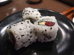 Sundried Tomato and Avocado Sushi Roll - Sakura Kaiten Sushi