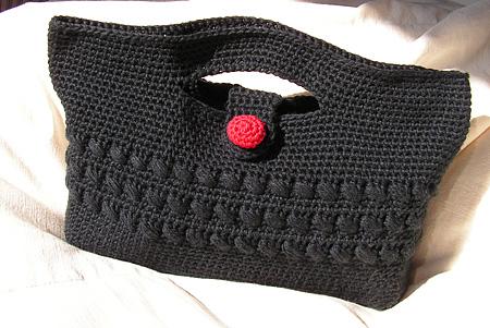 De fil en aiguille pochette au crochet - Tuto pour creer un sac en crochet ...
