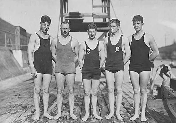 Swim Team University Of Washington 1921 Flickr Photo Sharing
