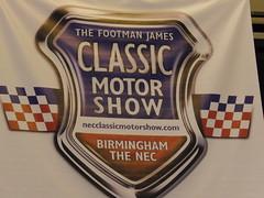 Classic Motor Show, NEC.