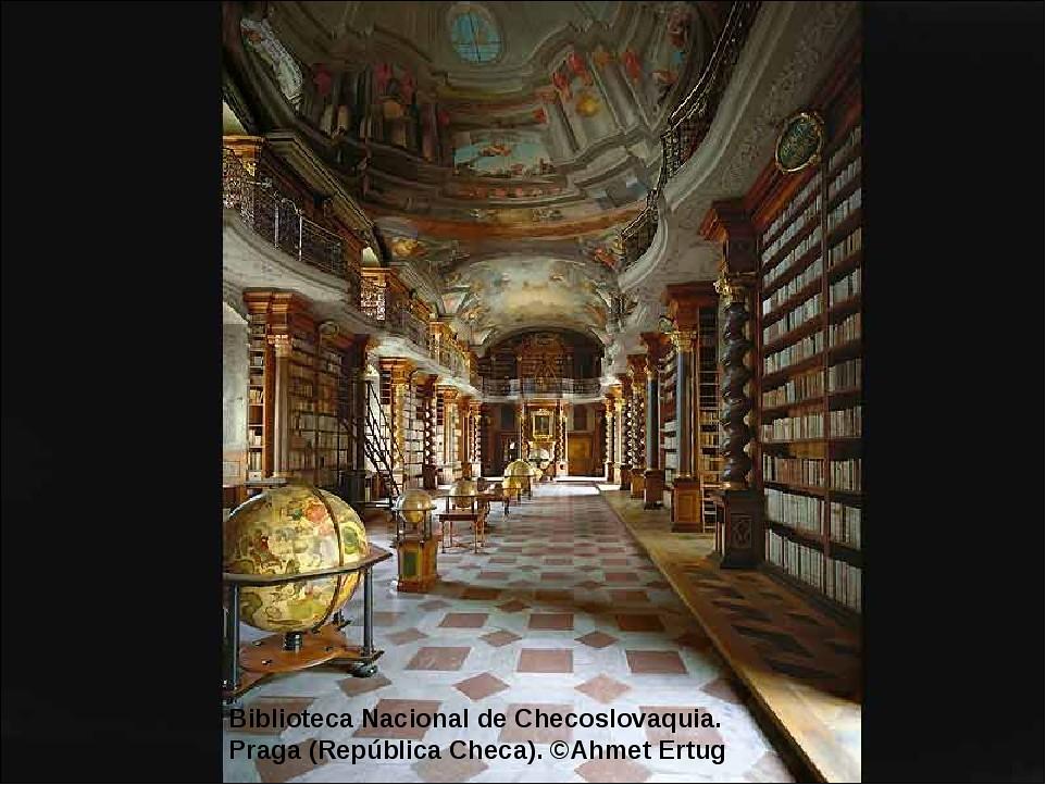 Biblioteca Nacional de Checoslovaquia. Praga
