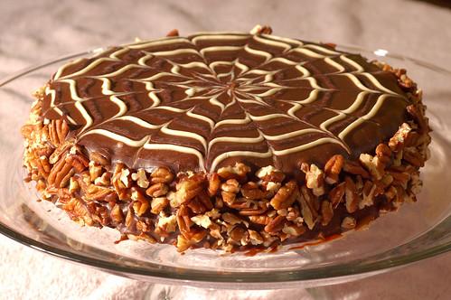 mocha pecan torte