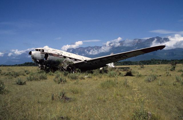 DC-3 Wreck and Auyan Tepui, Venezuela