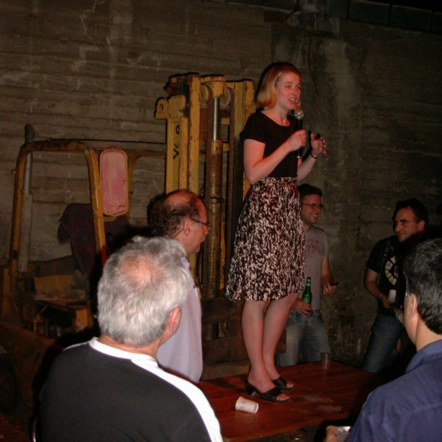 Marissa Mayer at GarageGeeks
