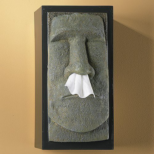 Funny tissue box covers weirdomatic - Nose tissue dispenser ...