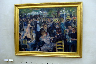 Renoir - Bal du moulin de la Galette (Dance at Le Moulin de la Galette, Montmartre) 1877