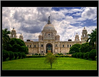 victoria memorial, kolkata - classical view