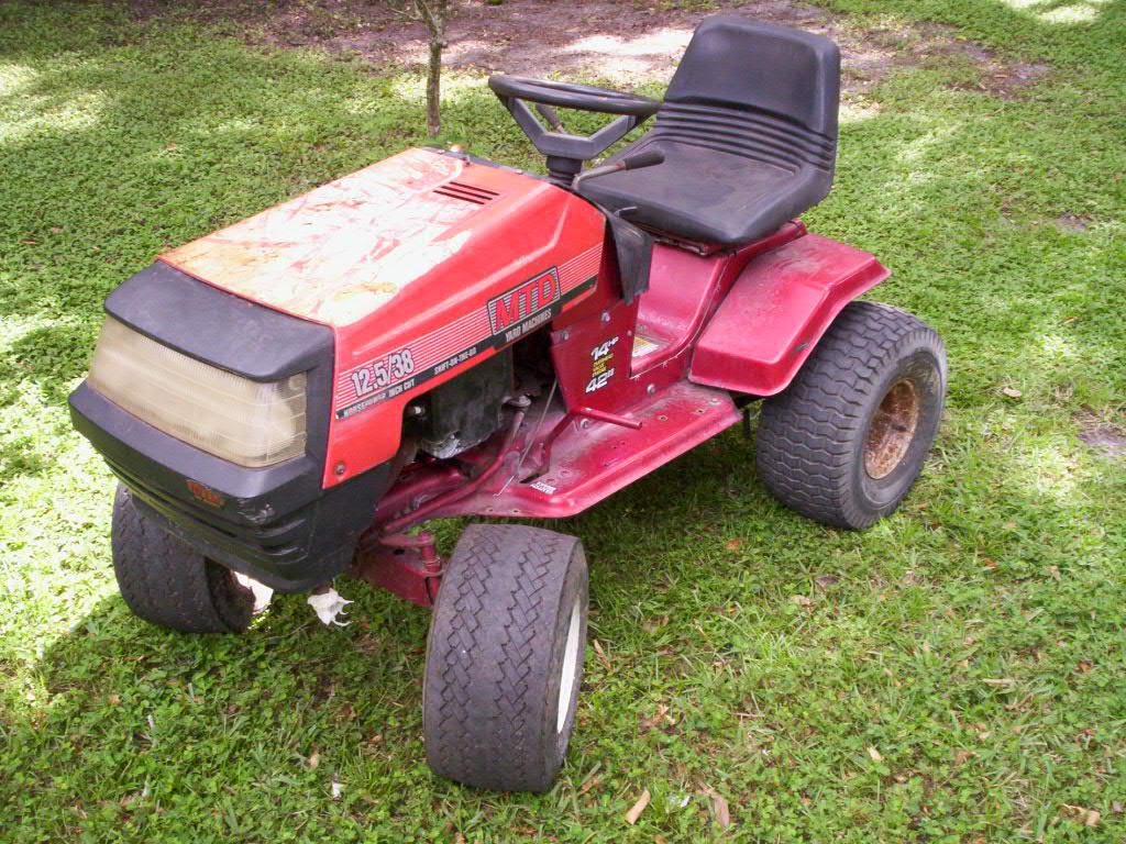 Vintage Mtd Lawn Tractors : Hotrod mowers mytractorforum the friendliest