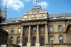 Paris - Île de la Cité: Palais de Justice