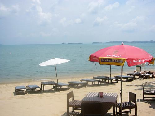 Koh Samui Bophut beach @ free house bungalow0000