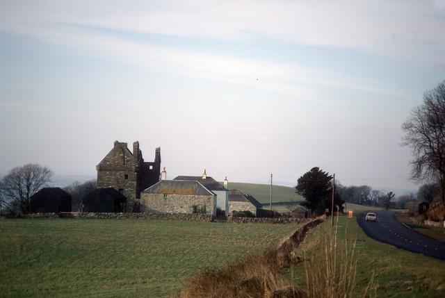 Carsluith Castle, A75 near Creetown (1972)