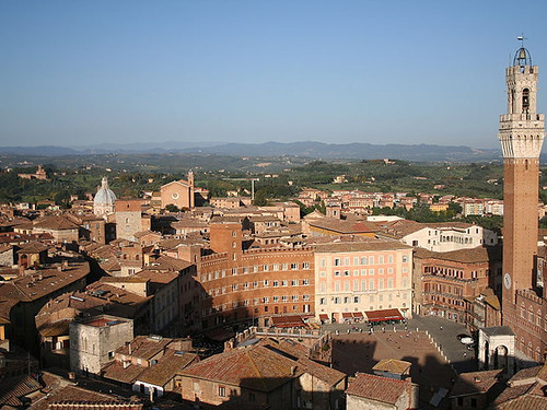 Siena, the centre