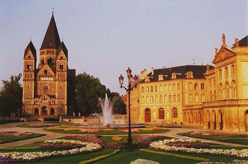 Metz - place de la Comédie