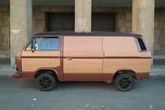 automobile, automotive exterior, van, commercial vehicle, vehicle, minivan, minibus, volkswagen type 2 (t3), volkswagen type 2, land vehicle,