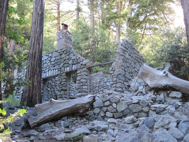 Ruined Stone-Walled Cabin