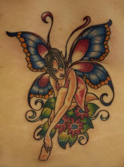 fairy_flowers_tattoo